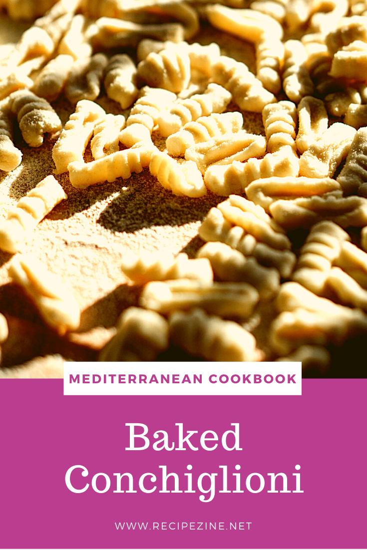 Baked Conchiglioni