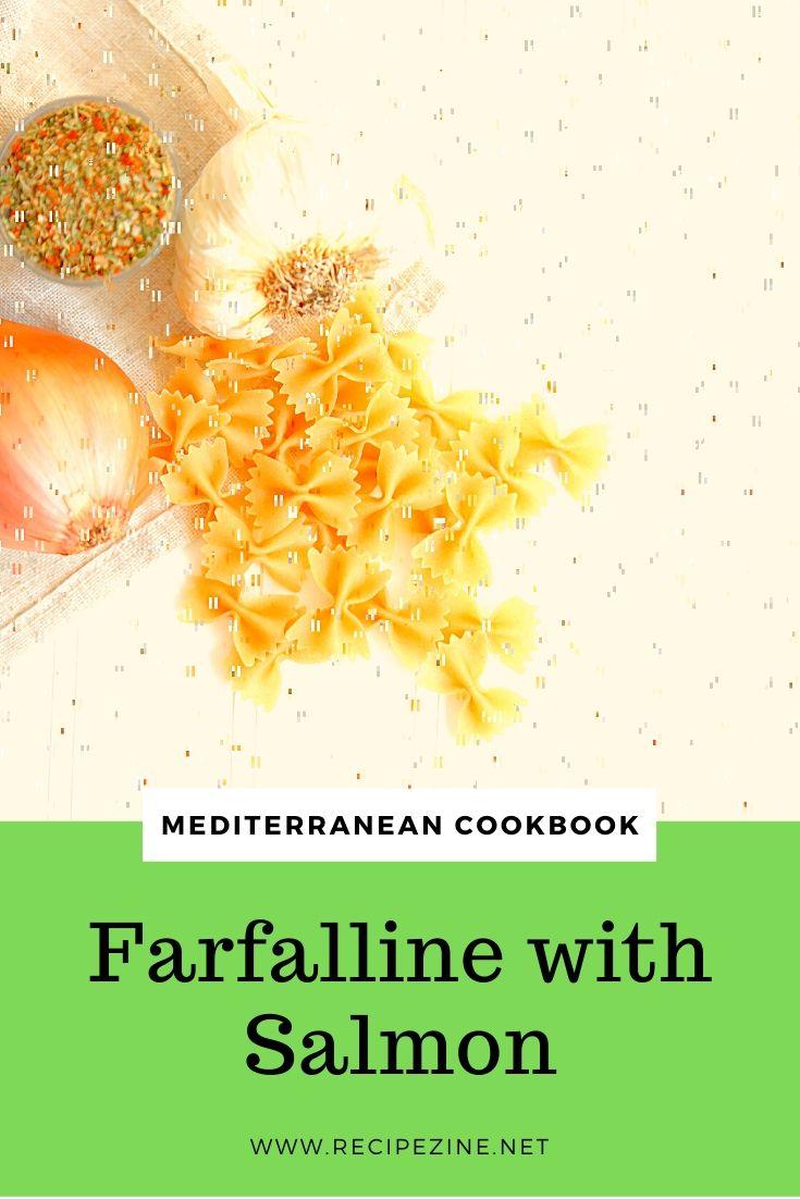 Farfalline with Salmon