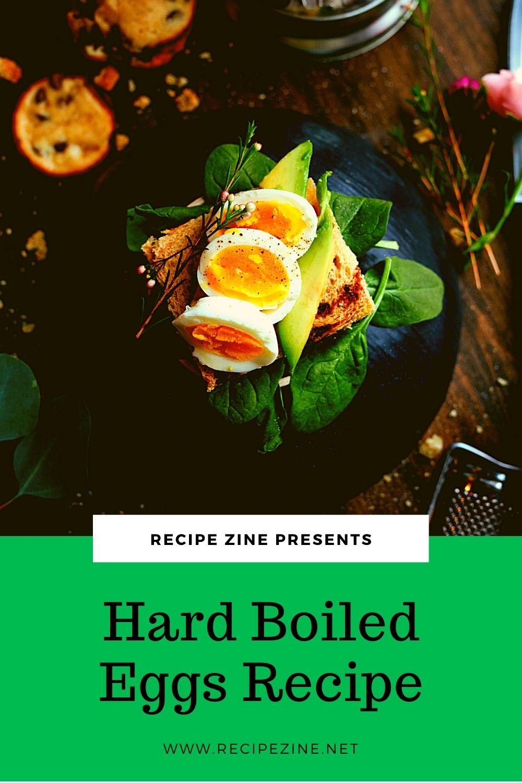 Hard Boiled Eggs Recipe